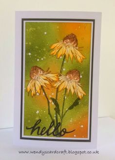 coloring tim holtz flower garden stamps blogs - Google Search