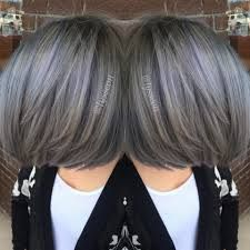 Image result for pewter hair