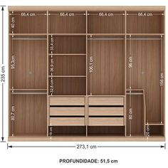 Home Interior Wood 65 Trendy open closet ideas bedroom drawers Wardrobe Design Bedroom, Bedroom Wardrobe, Wardrobe Closet, Built In Wardrobe, Bedroom Closets, Cupboard Wardrobe, Bedroom Cupboard Designs, Bedroom Drawers, Bedroom Cupboards