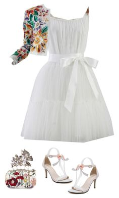 """Cute"" by eshlychenko ❤ liked on Polyvore featuring Chicwish, Naeem Khan and Alexander McQueen"