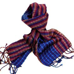 San Antonio Blue Purple Scarf