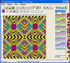 en-rHed-ando programa de mosaico para patchwork