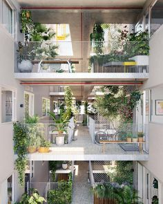 Forget everything you thought you knew about apartment design – this Melbourne property developer is doing things differently. Open Space Architecture, Facade Architecture, Facade Design, House Design, Landscape And Urbanism, Student House, Affordable Housing, Walkway, Apartments