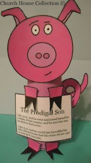 Church House Collection Blog: The Prodigal Son Toilet Paper Roll Craft