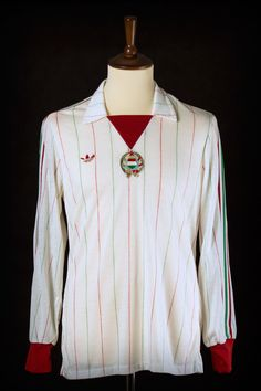 1984 Holland vs. Hungary match worn by László Szokolai (see our blog post for more details)
