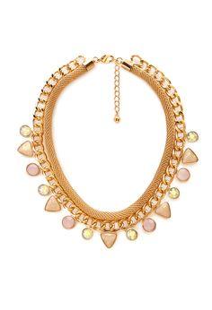 Bejeweled Dangling Choker   FOREVER21 - 1000067615