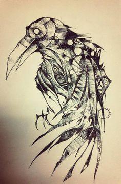 The Raven - Poe... creepy and eery yet creative