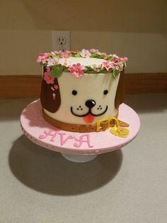 puppy birthday cake for kids \ puppy birthday cake for kids & puppy birthday cake for kids boys & puppy birthday cake for kids easy Puppy Birthday Cakes, Puppy Birthday Parties, Puppy Party, Birthday Cake Girls, Dog Birthday, Birthday Ideas, Puppy Dog Cakes, Animal Cakes, Girl Cakes