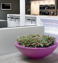 Polyester plantenschalen (verkrijgbaar op maat en in verschillende kleuren