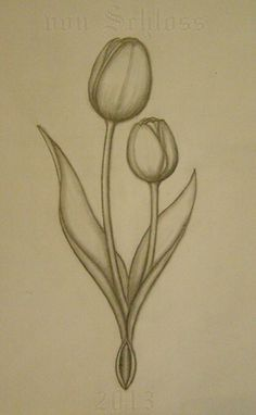 tulip tattoos - Google Search