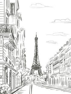 Paris Line Art / 7410                                                                                                                                                                                 Más