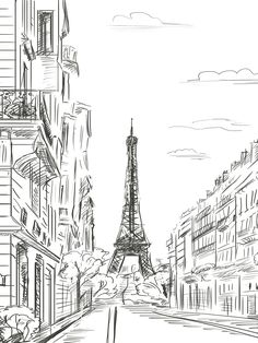Paris Line Art / 7410