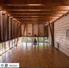 German Rodriguez arquitecto Sala de yoga AYC Dx arquitectos, Chile