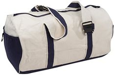 Florida Coast 15021-L Duffle Travel Bag Natural Canvas with Navy Trim >>> Read more  at the image link. (This is an Amazon Affiliate link and I receive a commission for the sales)
