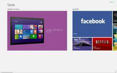 Реклама магазина приложений Windows