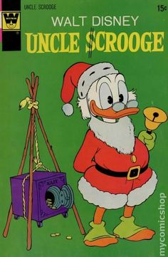 whitman comic book covers | Uncle Scrooge (1972 Whitman) comic books