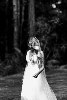 LIV + DAVE // #wedding #bride #bridal #dress #gown #veil #hair #makeup #relaxed #classic #tulle