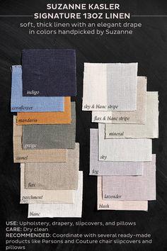 Suzanne Kasler's Signature 13oz Linen