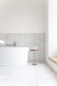 In the chapel, Bruton - Rye London Downstairs Bathroom, Master Bathroom, Bathroom Marble, Bathroom Furniture, Bathroom Interior, Shelf Furniture, Bathroom Inspiration, Bathroom Inspo, Bathroom Ideas