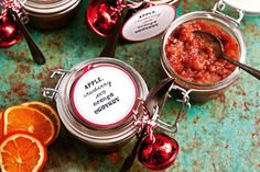 Katie Quinn Davies' fruit chutney makes a great gift and will fill your house with the most incredible Christmas aromas.