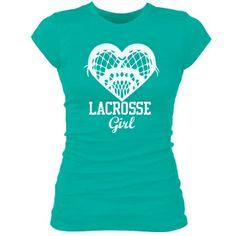 Lacrosse Girl Junior Fit Bella Sheer Longer Length Rib Tee