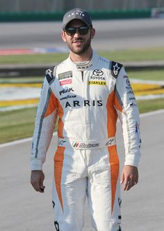 Daniel Suarez, driver of the ARRIS Toyota, stands on the grid during qualifying for the NASCAR Xfinity Series Alsco 300 at Kentucky Speedway on July 2018 in Sparta, Kentucky. Daniel Suarez, Bristol Motor Speedway, Nascar Racing, Monster Energy, F1, Kentucky, Grid, Toyota, Posts