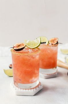 There is no better way to relax than with a fresh fig margarita. This delicious crowd-pleasing fig cocktail is a cinch to make for yourself or for a crowd!