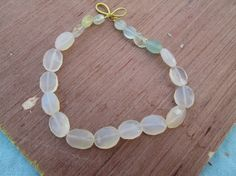 At Factory Price , Full strand AAA. Chalcedony FActed oval Briolette beads Extremely Beautiful ,(d2788) by JaiVyavsayBeads on Etsy