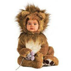 Leeuw kostuum baby