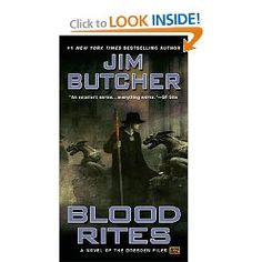 Blood Rites (The Dresden Files, Book 6) by Jim Butcher: Harry Dresden, Chicagos only professional wizard, takes on a case as a favor to his friend Thomas-a vampire of dubious integrity-only to become the prime suspect in a series of ghastly murders.