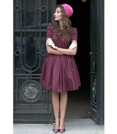 Thanks to these dainty white gloves and elegant pink hat, we're in love. - MarieClaire.com