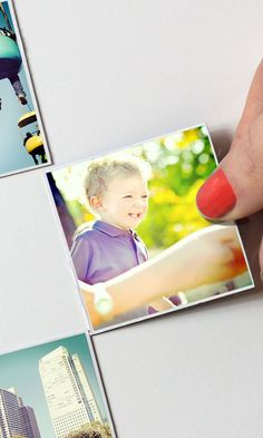Magnets made with photos from your Instagram, camera-roll or desktop. Stick your memories around!