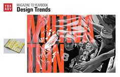 #Bold dividers will create visual variety through the entire #yearbook. Try adding #color effects and bold typefaces