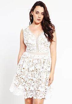 New Look Curves - Robe d'été - white