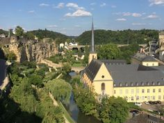 View of the Petrusse Valley Luxembourg Photo: Heatheronhertravels.com