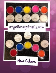 FDA Approved !!! Safe Product Now Safe Colours way to go Angel Love Nail Products