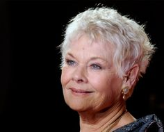 Judi Dench Judi Dench, British Comedy, Daily Beauty, Beautiful Hairstyles, Great Women, Loving Your Body, Style Ideas, Haircuts, Writer