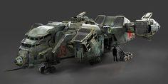 Vehicle_Concept Art by Kiev Decatoire on ArtStation.