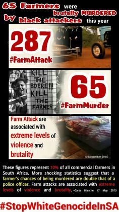 TAU SA seek legal advice on rising farm attacks in South Africa  Black on White Genocide in South Africa #StopWhiteGenocideInSA