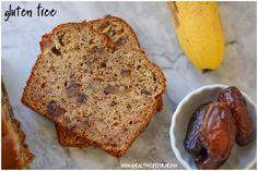 Gluten Free Banana Walnut Date Bread Recipe with Amy Stafford at www.ahealthylifeforme.com