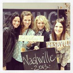"Via @Alicia Kelley - ""My beautiful travel companions. A really great couple of days in Nashville"" #leadingandlovingit"