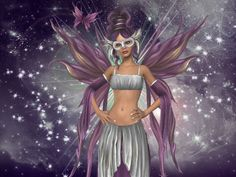 Pink Mask Fairy Background Wallpapers