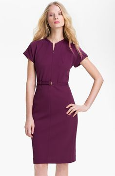 Diane von Furstenberg 'Maizah' Twill Sheath Dress available at #Nordstrom