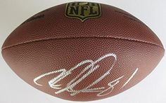 Calvin Johnson, Detroit Lions, Georgia Tech, Signed, Autographed, NFL Duke Football, a COA with the Proof Photo of Calvin Signing the Football Will Be Included