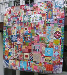 Everything But the Kitchen Sink Quilt - Victoria Findlay Wolfe, 2009