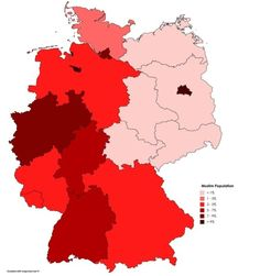 Muslim Population in Germany.