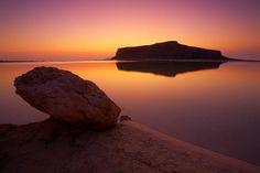 Balos Lagoon Chania Crete Greece.