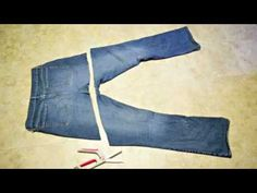 youtube video of how to make a jean purse