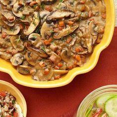 Low-Carb Mushrooms Silvestri Casserole