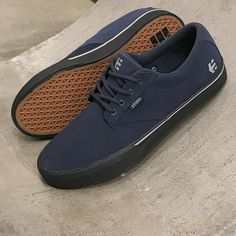 Etnies Skate Shoes, Etnies Jameson Nathan Williams Dark Grey/ Black